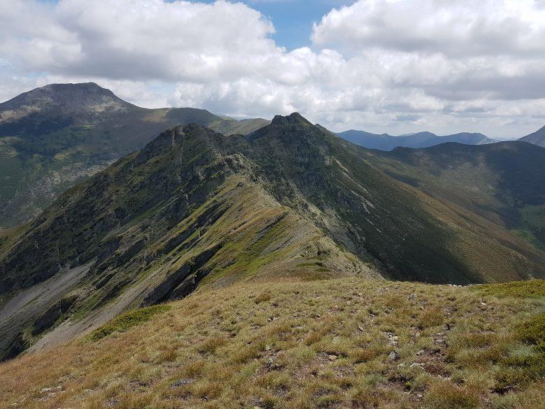 Cumbre del cordal de Aguasalio