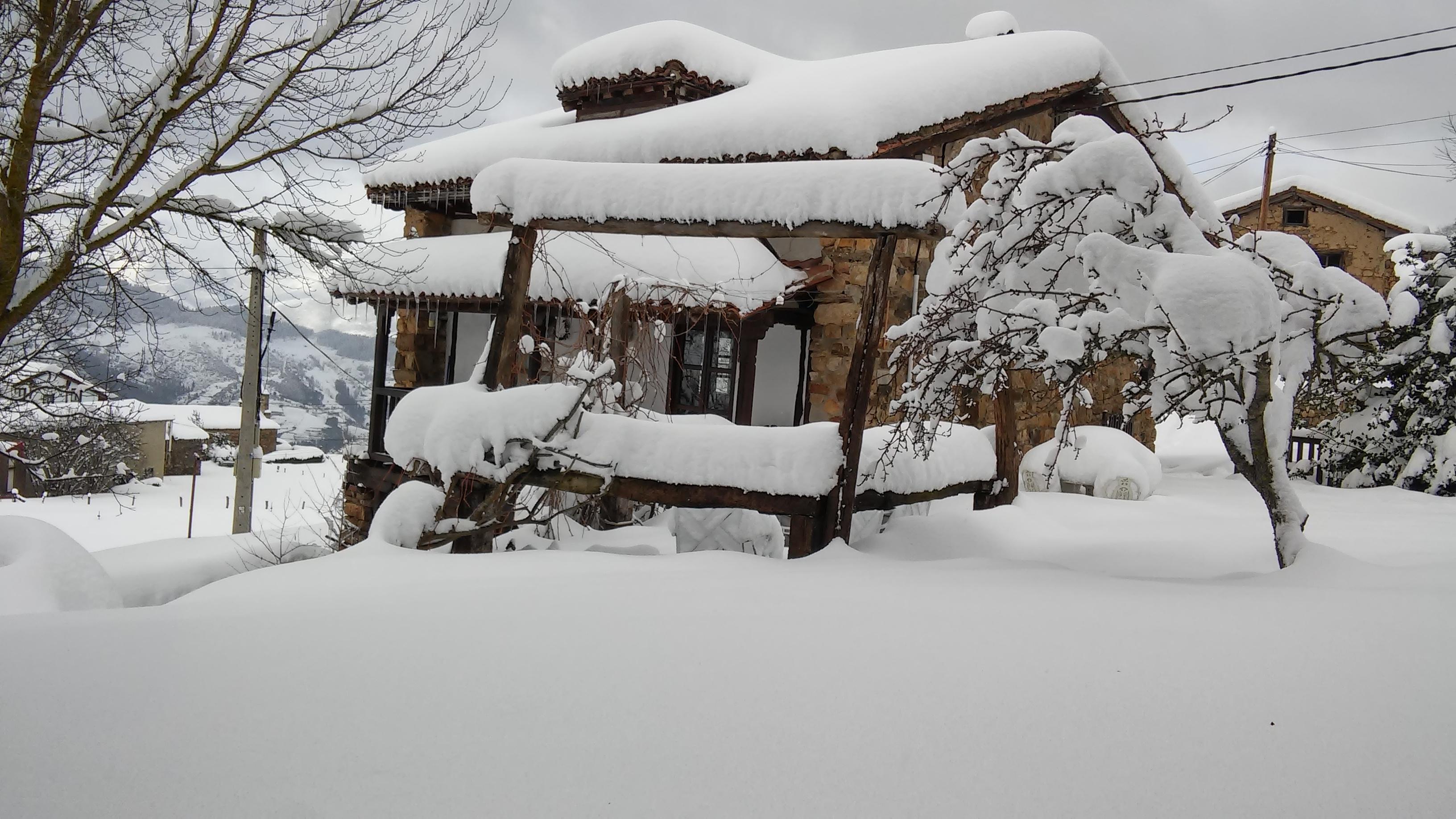 Cahecho nevado