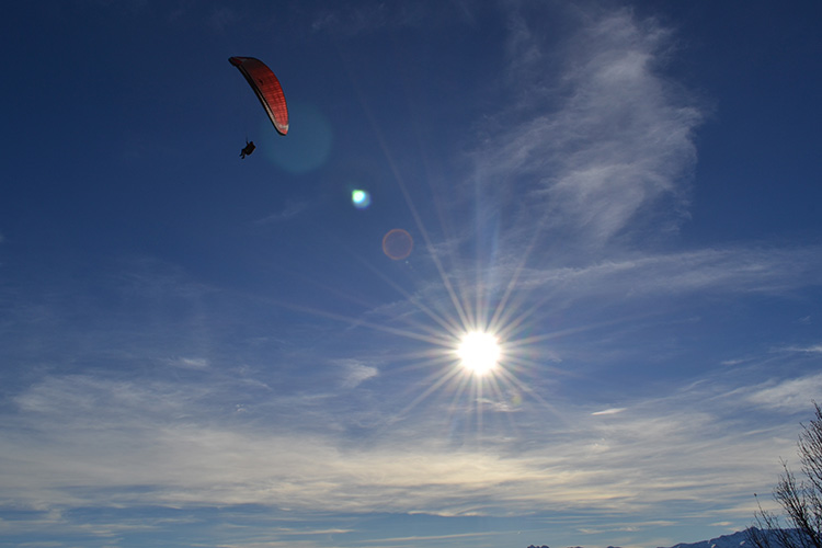 Volando en Cahecho