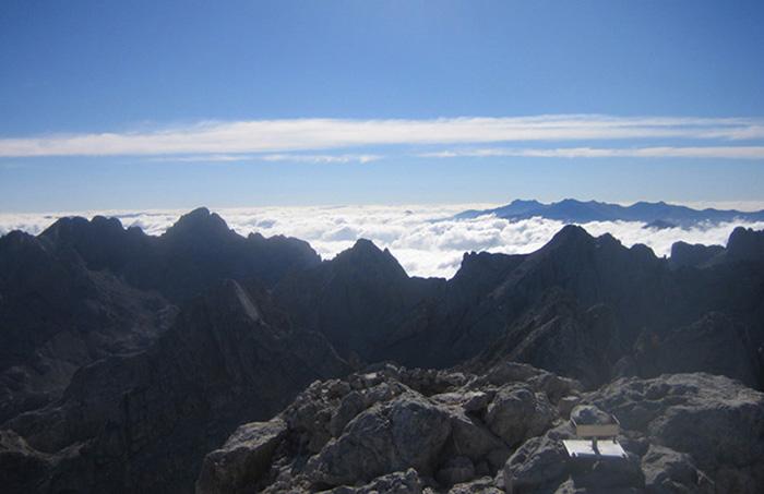Mar de nubes en Picos de Europa