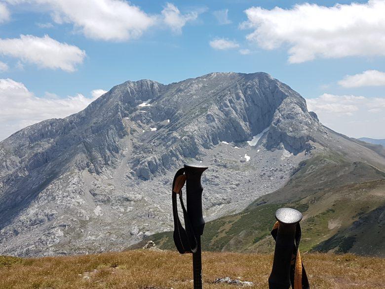 Foto de la cara norte del Espiguete