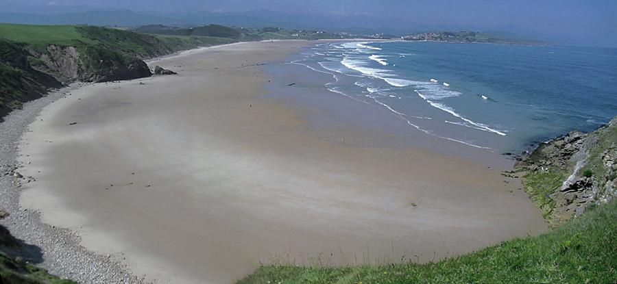 Playa de San Vicente de la Barquera
